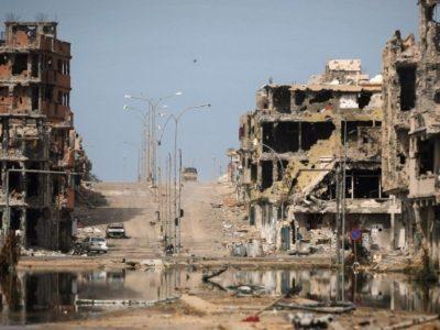 Người dân Libya đang phải sống trong những điều kiện hết sức khó khăn. (Nguồn: War & Welfare)