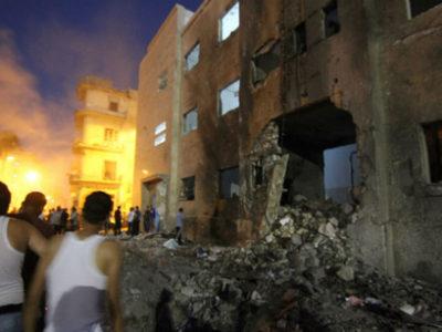 Hình ảnh mới của Libya không khác hình ảnh cũ trong cuộc chiến tranh là mấy. Ảnh: foreignpolicy.com