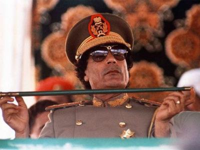 Moammar Gadhafi bị cho là tẩu tán 200 tỷ USD khắp thế giới. Ảnh: AP.
