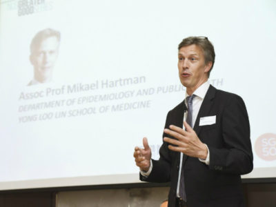 Giáo sư, bác sĩ Singapore Mikael Hartman - chuyên gia về bệnh ung thư vú.