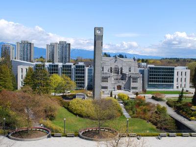 Đại học British Columbia, Canada