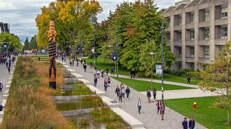 Khuôn viên Vancouver, Đại học British Columbia