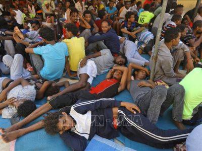người di cư tại Libya