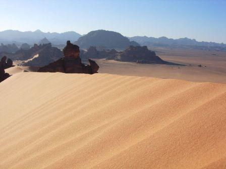 sa mạc ở Libya