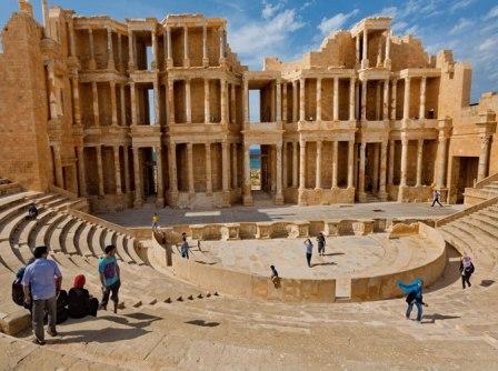 dấu tích La Mã cổ đại ở Libya