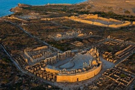 dấu tích cổ đại ở Libya