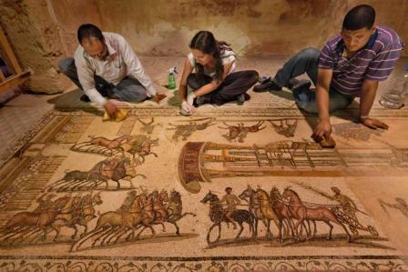 dấu vết cổ đại ở Libya