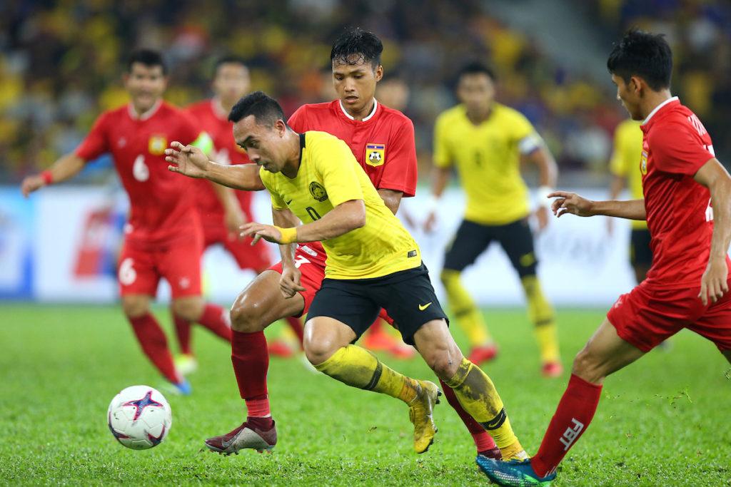 Tuyển Malaysia thắng Lào 3-1 tại vòng bảng AFF Cup 2018