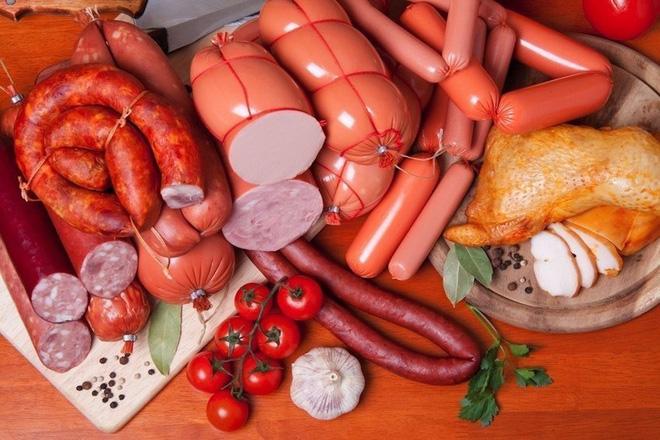 Các loại thịt chế biến sẵn