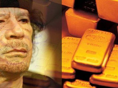 Gaddafi nhiệt thành với ý tưởng đồng dinar vàng cho toàn châu Phi. Ảnh: Urban Times.