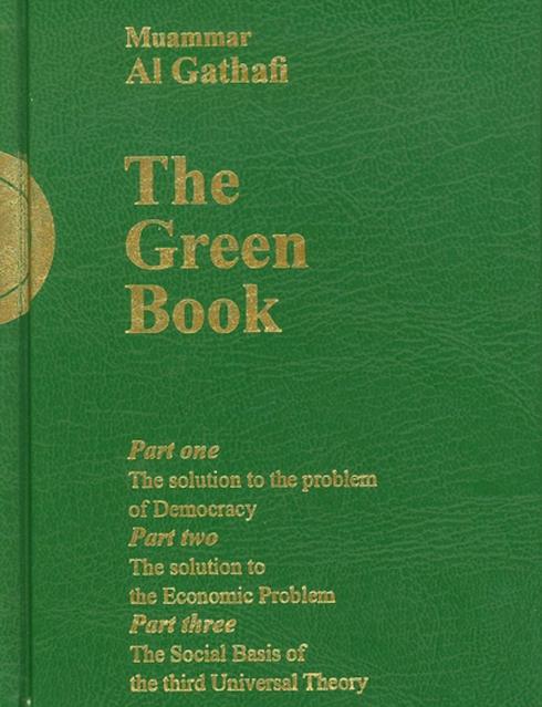 sách xanh của Gaddafi