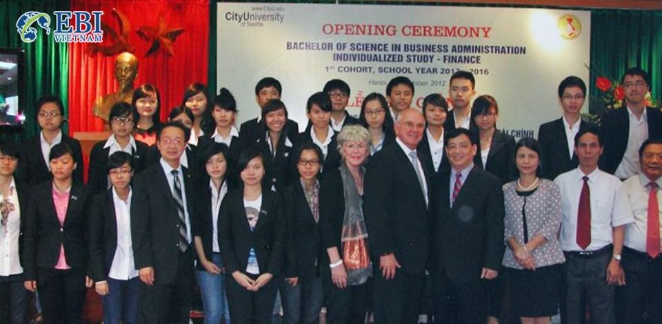 Công ty tư vấn du học - Giáo dục quốc tế EBI Việt Nam.