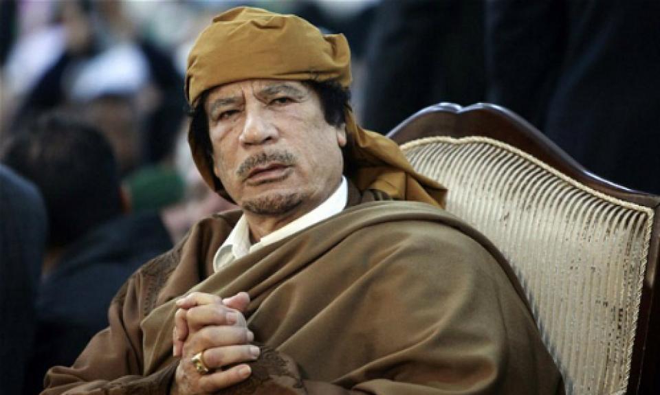 Muammar Gaddafi - lãnh đạo Libya giai đoạn 1969-2011. (Nguồn: Reuters)