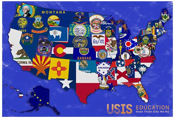 Các tiểu bang ở Mỹ