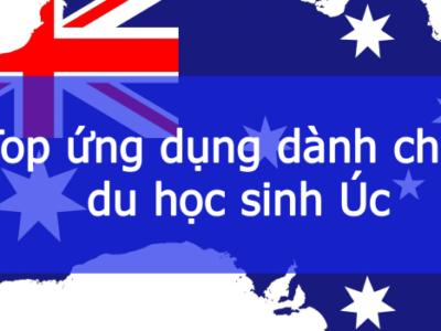 Các App ứng dụng cho du học sinh tại Úc