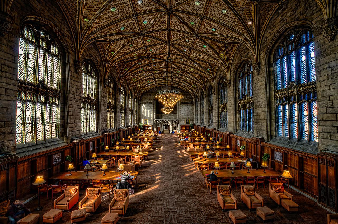 Khung cảnh kí túc xá trường đại học Chicago