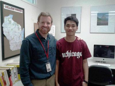 Lâm Quang Nhật dành học bổng toàn phần của trường đại học Chicago