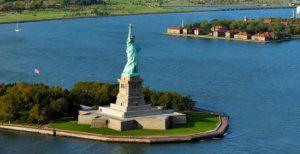 Tượng đài Nữ thần tự do ở Mỹ