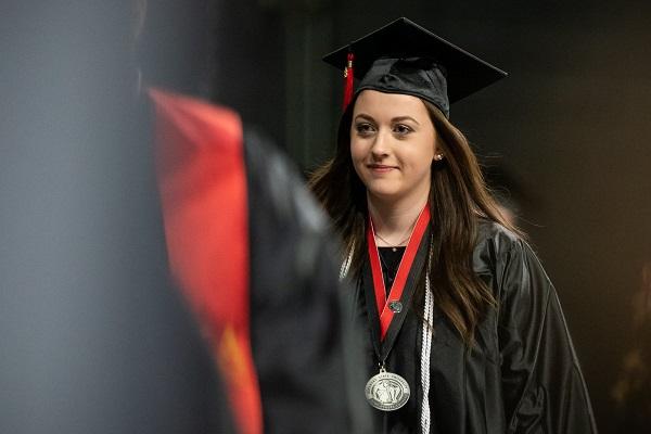 Sinh viên trong buổi lễ tốt nghiệp