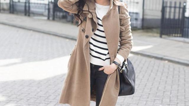 Áo khoác màu camel