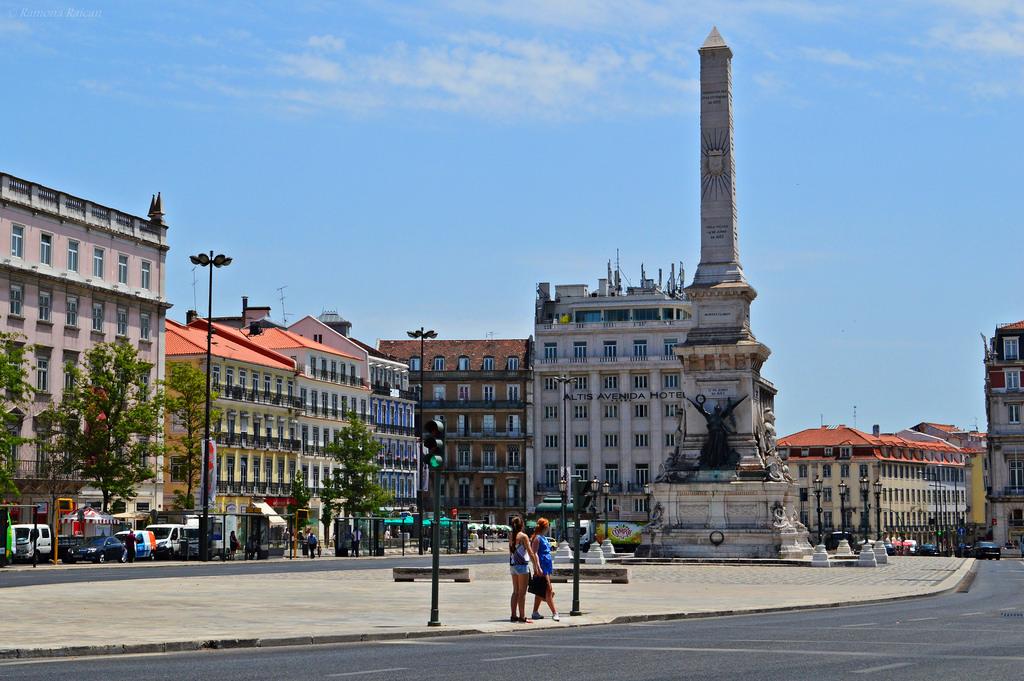 Một góc phố tại Bồ Đào Nha