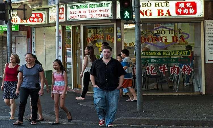 Các địa điểm tập trung nhiều người Việt định cư tại Úc