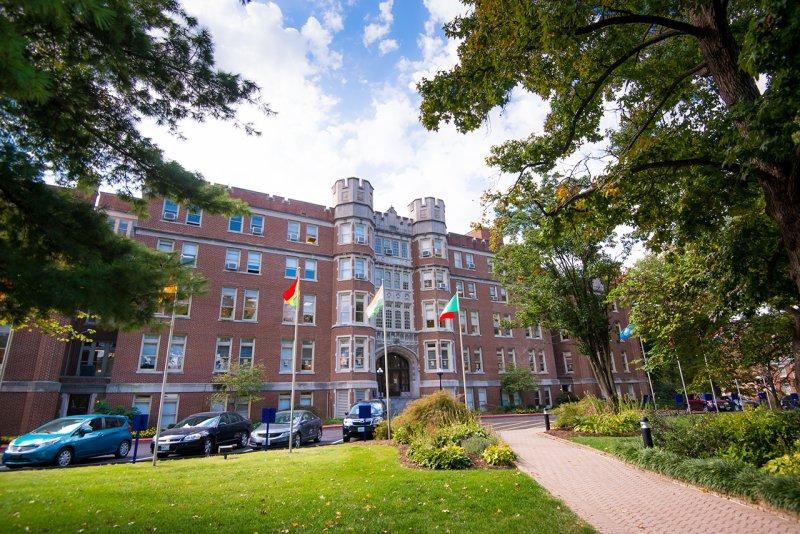 Một góc của Đại học Webster nơi mà bạn có thể thực hiện giấc mơ du học Mỹ