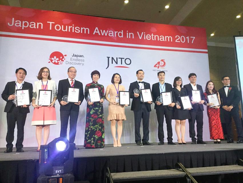 Liên Bang Travelink nhận giải thưởng du lịch Nhật Bản