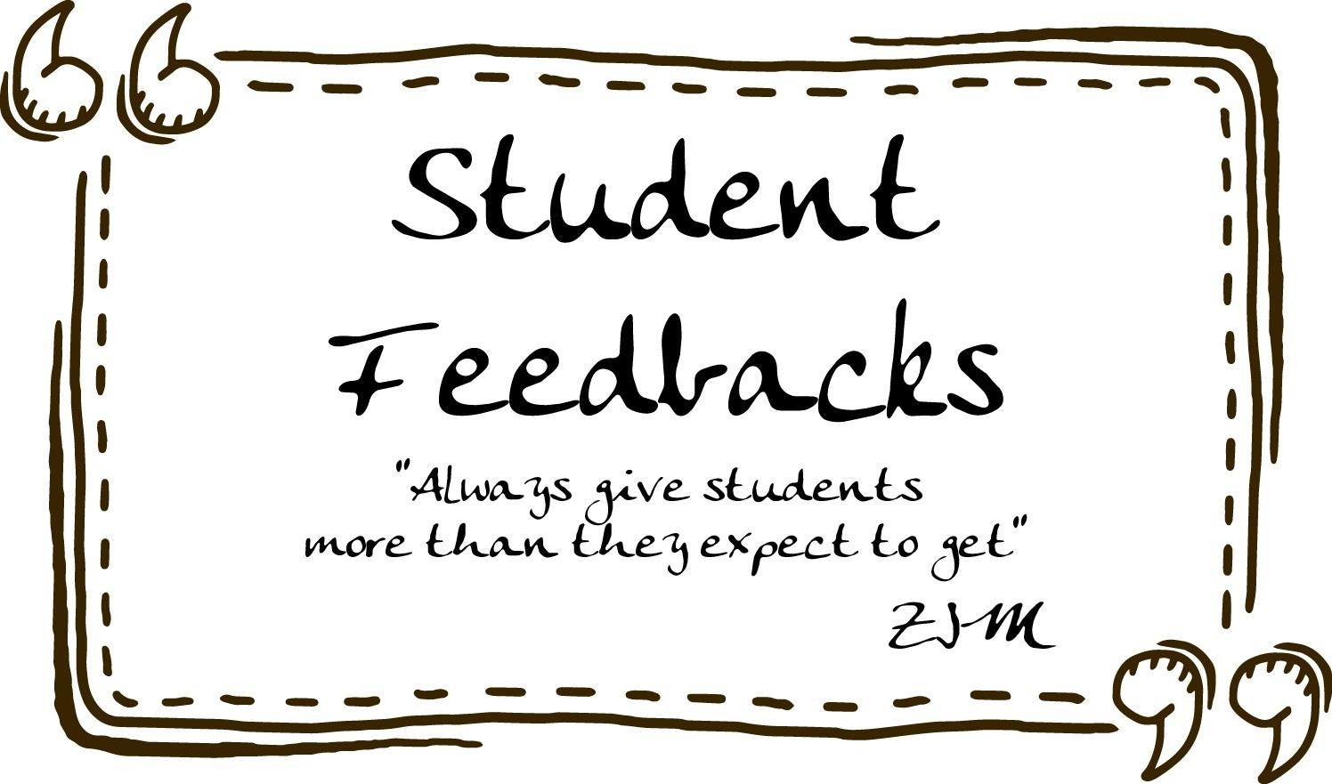 Feedback của học viên