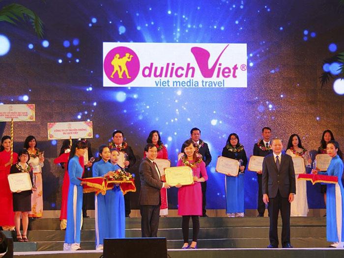 Đêm vinh danh Công ty Du lịch Việt