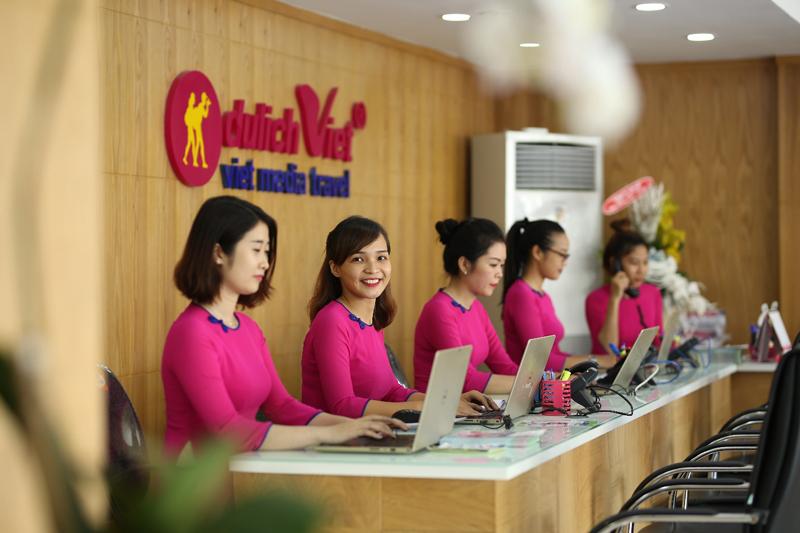 Tiếp tân của Du lịch Việt