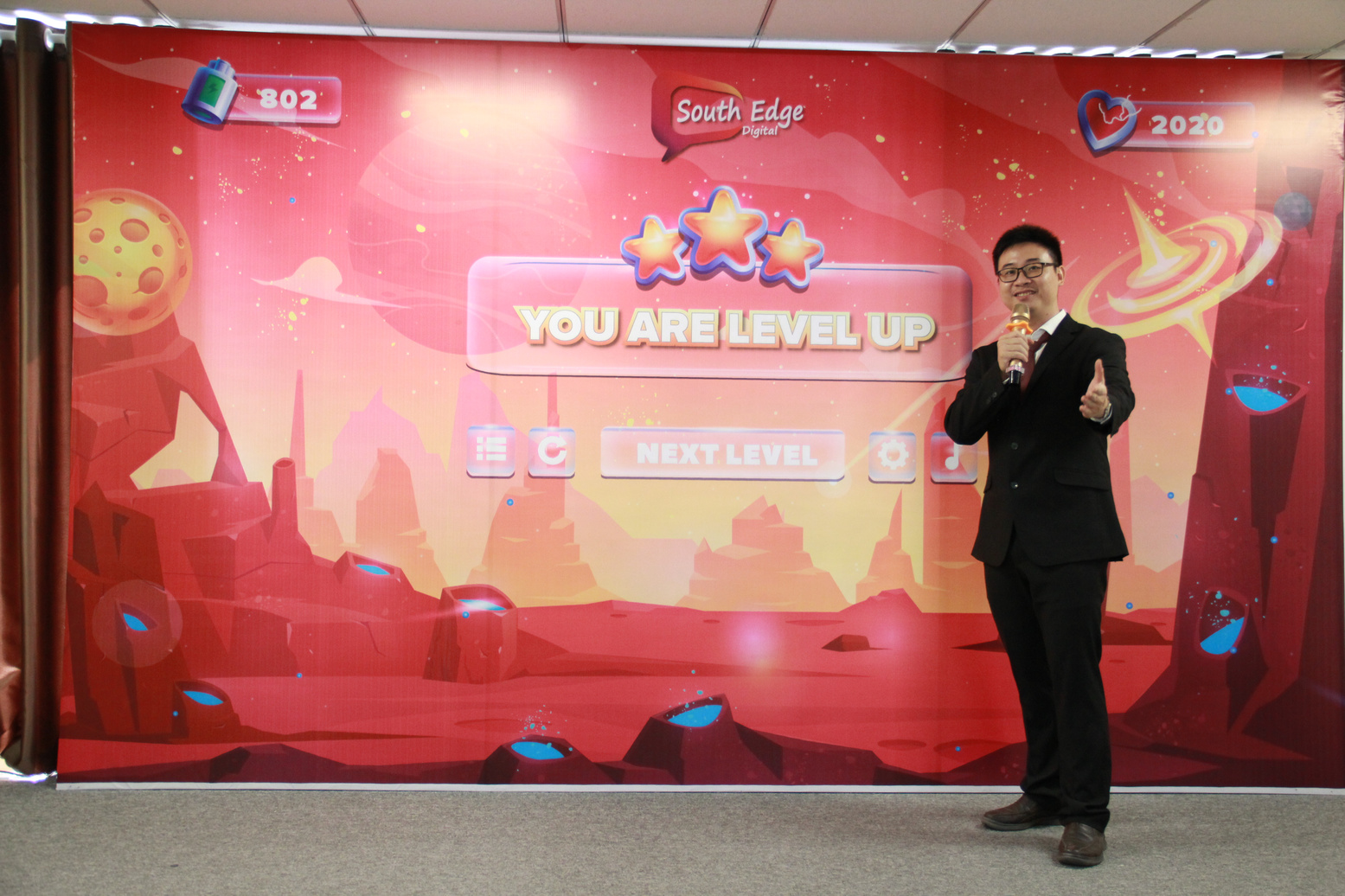 you are level up Southegde