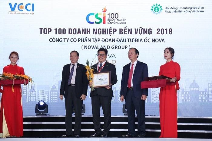 Ông Bùi Thành Nhơn chủ Novaland tại ngày giao dịch chính thức cổ phiếu