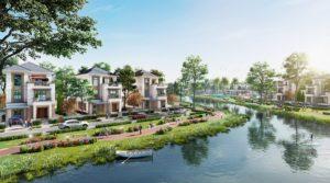 khu đô thị sinh thái bên sông