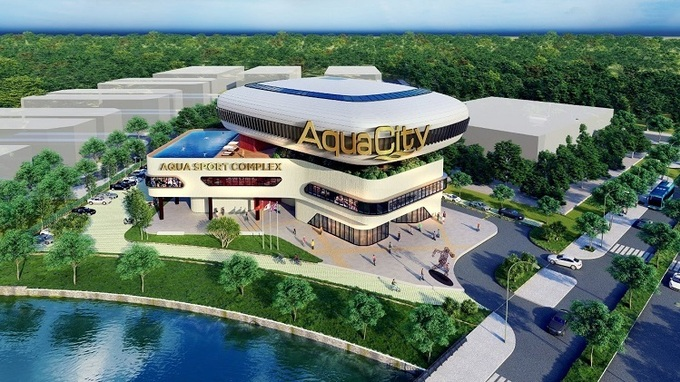khu đô thị hiện đại aqua city