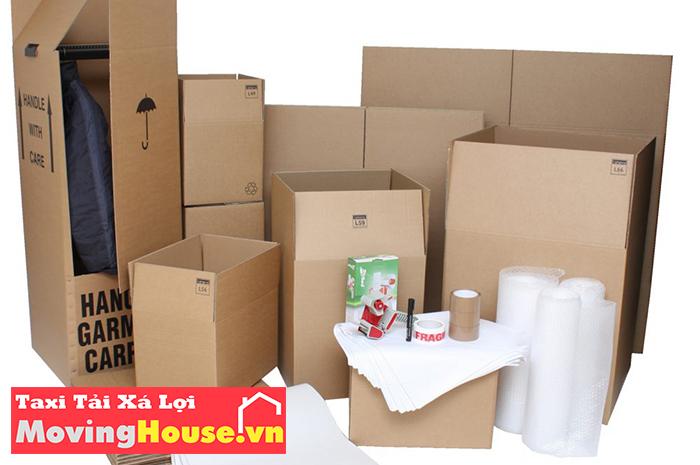đóng gói đồ đạc dân dụng khi chuyển nhà