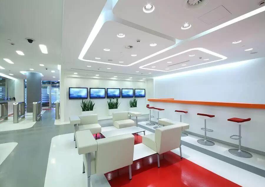 văn phòng được làm bằng trần thạch cao