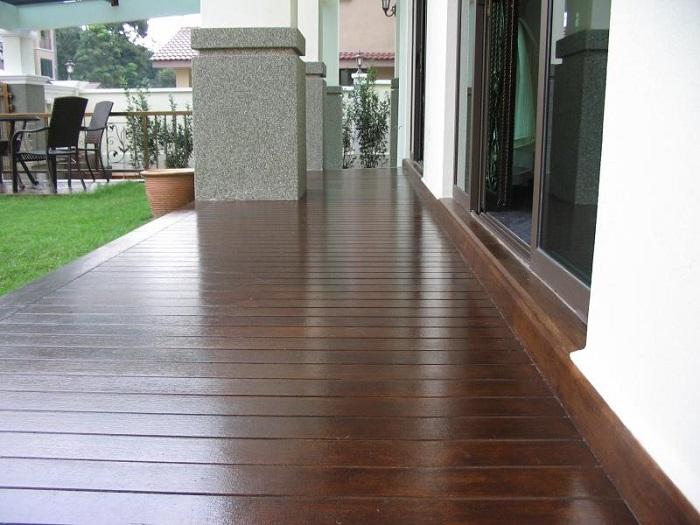 sản phẩm thay thế cho gỗ tự nhiên