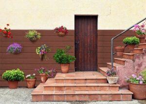 ứng dụng vân gỗ làm cầu thang