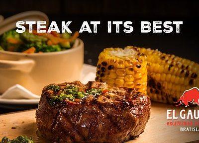 Món Fillet steak tại nhà hàng steak El Gaucho Ba Đình, Liễu Giai, Hà Nội