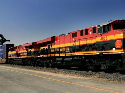 vận tải bằng tàu hỏa