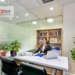 Không gian tại đơn vị cho thuê văn phòng trọn gói Office168