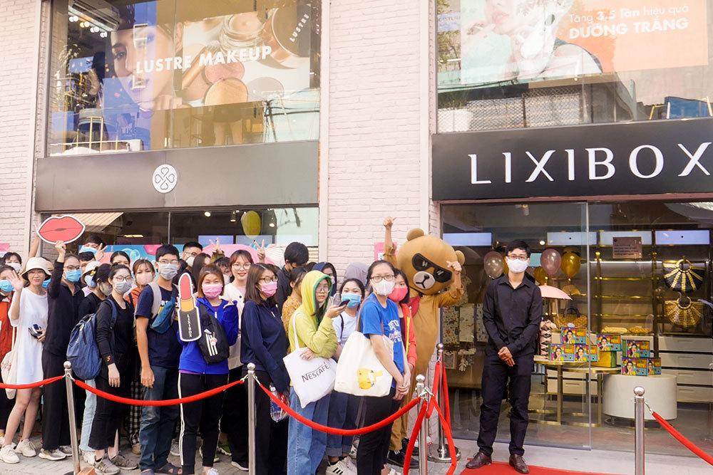 Cửa hàng mới Lixibox